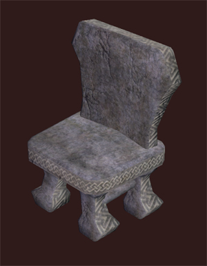Hewn Stone Chair
