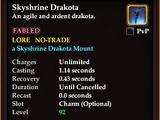 Skyshrine Drakota (Mount)