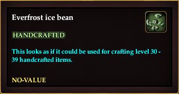 Everfrost ice bean