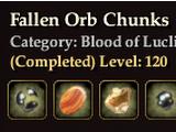 Fallen Orb Chunks