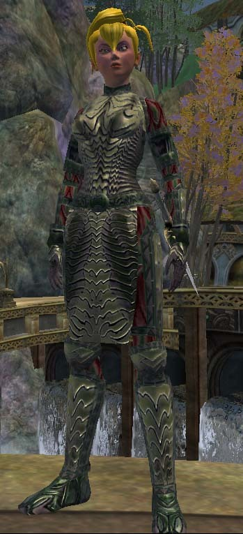 Enlivened Chance Set (Armor Set)
