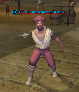 A Truth preceptor apprentice