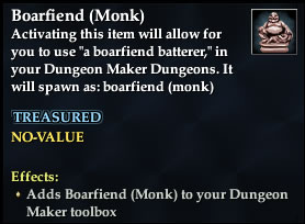 Boarfiend (Monk)