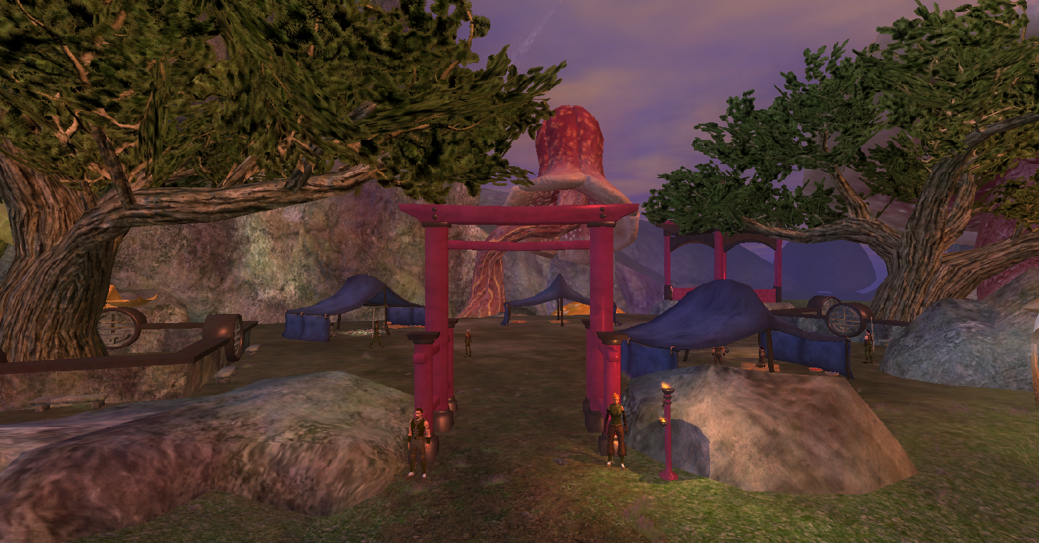Camp of the Legendary Wu
