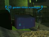 Greater slime scavenger