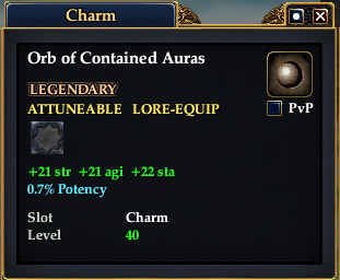 Orb of Contained Auras