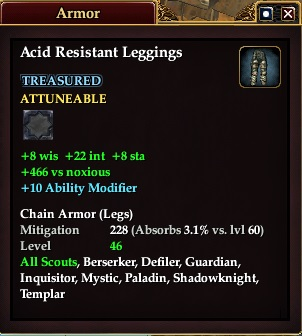 Acid Resistant Leggings (Version 1)