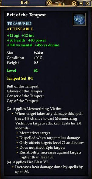 Belt of the Tempest (Level 62)