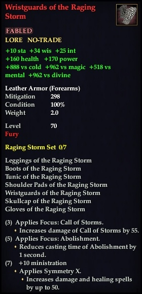 Wristguards of the Raging Storm (Version 1)