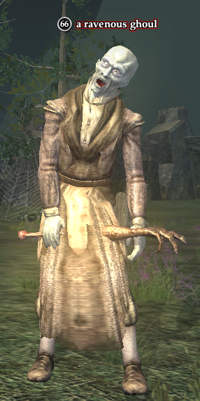 A ravenous ghoul (Loping Plains)