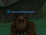 A treespirit barkstripper