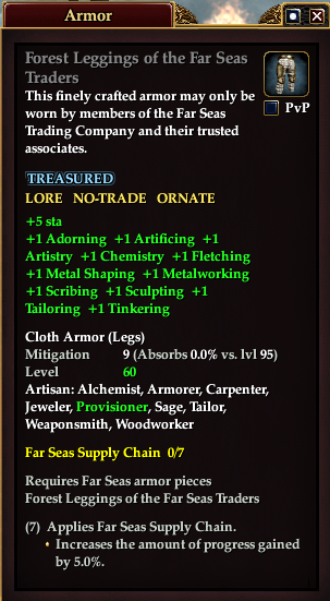 Forest Leggings of the Far Seas Traders