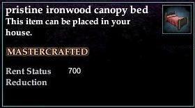 Ironwood Canopy Bed