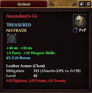 Ascendant's Gi
