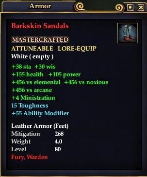 Barkskin Sandals