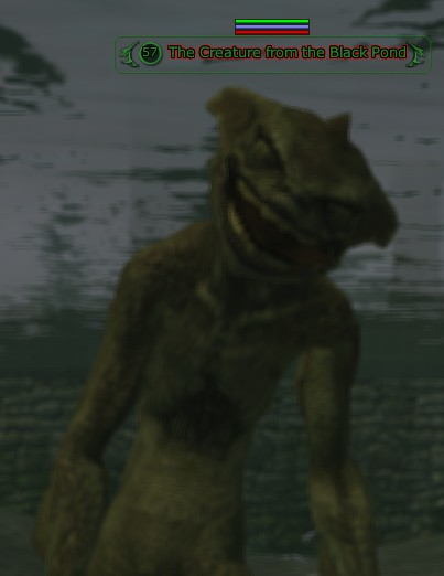 The Creature from the Black Pond