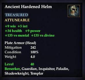 Ancient Hardened Helm