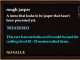 Rough jasper (QuestReward)