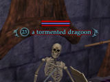 A tormented dragoon
