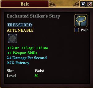 Enchanted Stalker's Strap