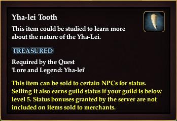 Yha-lei Tooth