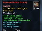 Bejeweled Belt of Ferocity