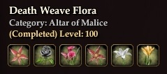 Death Weave Flora