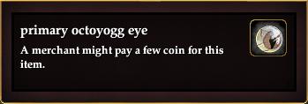Primary octoyogg eye