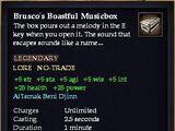 Brusco's Boastful Musicbox