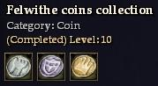 Felwithe coins collection