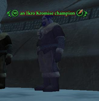 An Ikro Kromise champion