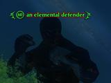 An elemental defender