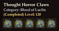 Thought Horror Claws