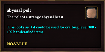 Abyssal pelt