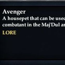 Avenger (Arena Pet)