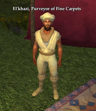 El'Khazi, Purveyor of Fine Carpets