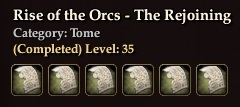 Rise of the Orcs - The Rejoining