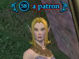 A patron