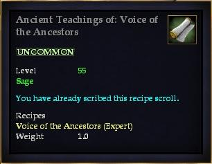 Ancient Teachings of: Voice of the Ancestors