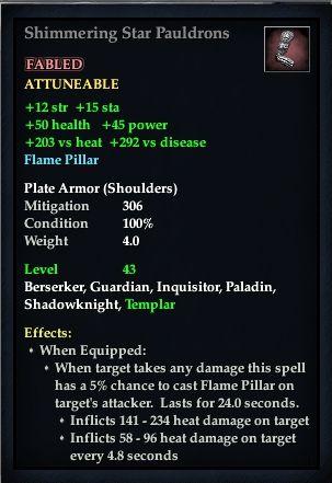 Shimmering Star Pauldrons (Version 1)