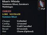 Khast's Whistle