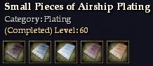 Small Pieces of Airship Plating