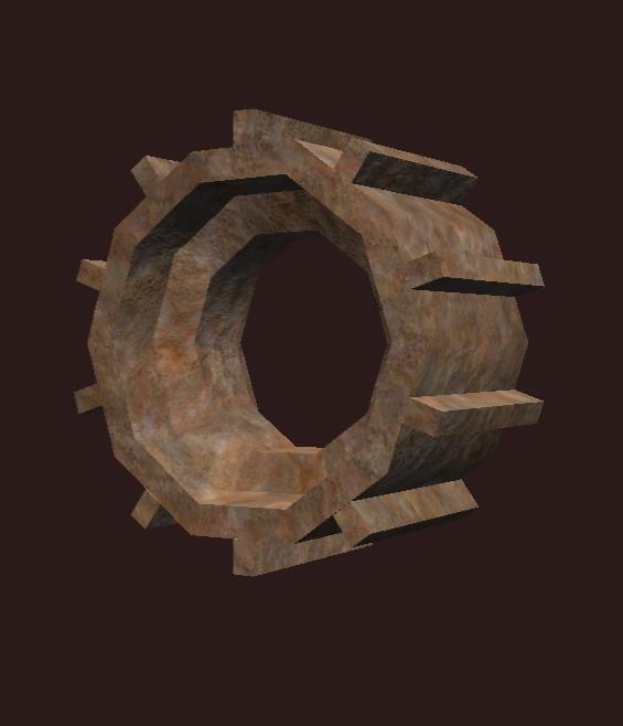 Elaborate Rhodium Cog (Inactive)
