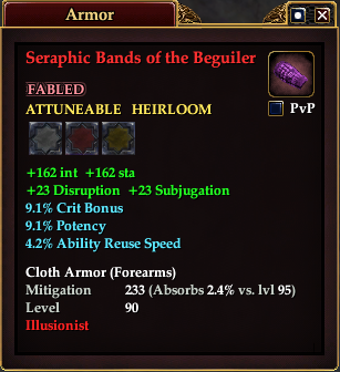 Seraphic Bands of the Beguiler