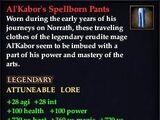 Al'Kabor's Spellborn Pants (Version 1)