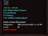 Arctic Frostwind Oracle's Wristguard