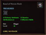 Band of Woven Flesh