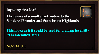 Lapsang tea leaf