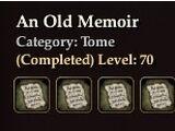 An Old Memoir