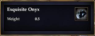 Exquisite Onyx